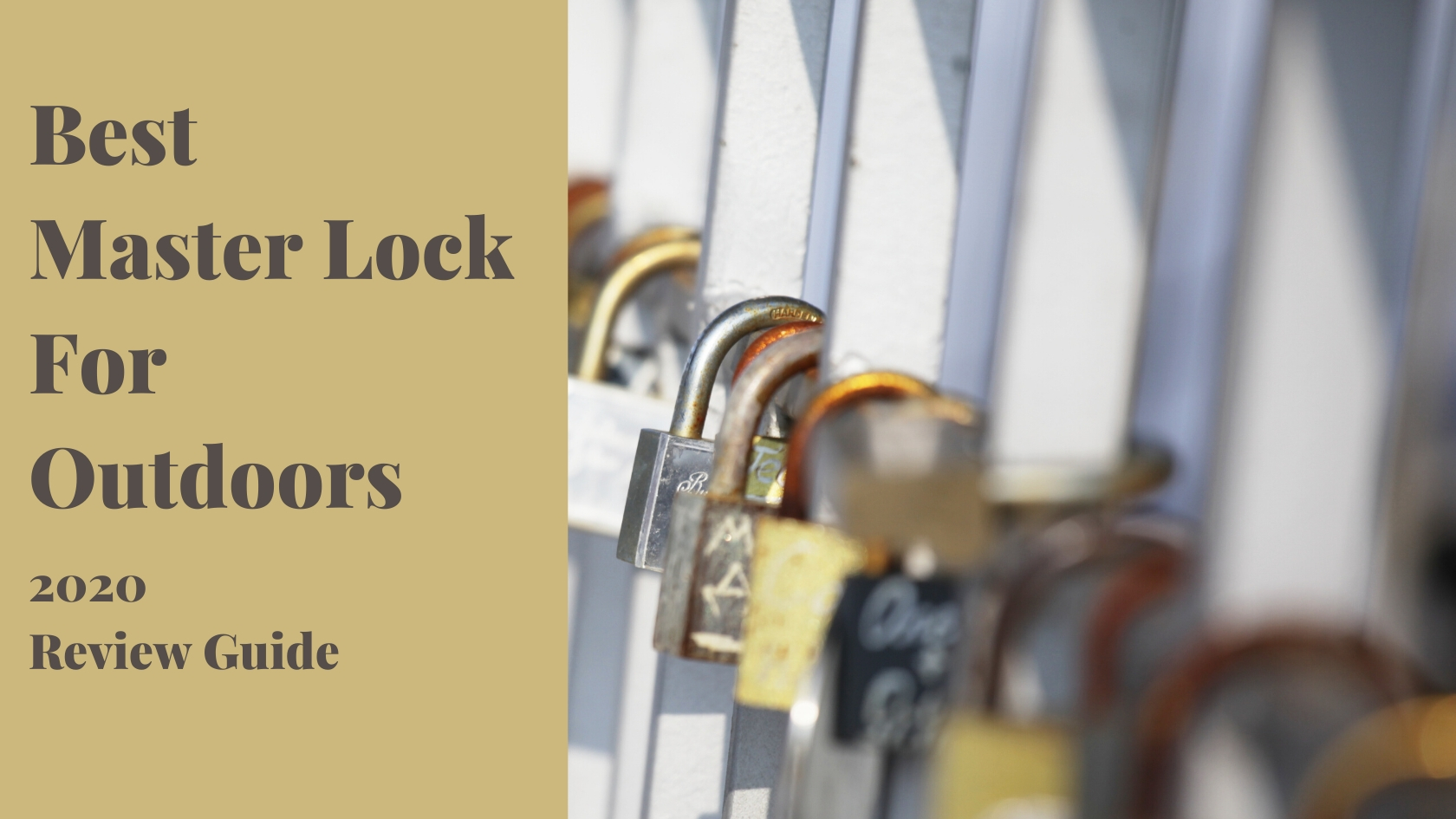 Best Master Lock For Outdoors Review In 2020 Roach Fiend
