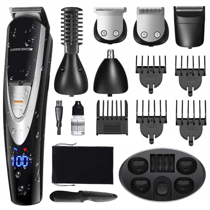 MIGICSHOW Electric Beard Trimmer